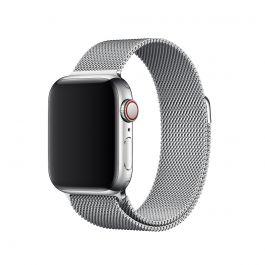Apple Watch remienok 40mm milánsky ťah strieborný