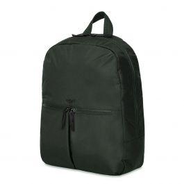 Knomo BERLIN Backpack 15-inch Polyester w Split Leather Trim - Zelený