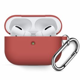 Innocent California Silicone AirPods Pro Case with Carabiner - Červená