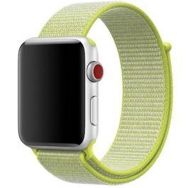 Innocent Nylonový remienok pre Apple Watch 42/44mm - Yellow