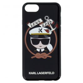 Karl Lagerfeld Karl Sailor TPU Case Black pro iPhone 7/8
