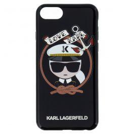 Karl Lagerfeld Karl Sailor TPU Case Black pro iPhone 7/8
