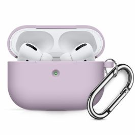 Innocent California Silicone AirPods Pro Case with Carabiner - Levandulová
