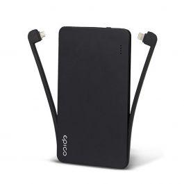 Powerbanka EPICO Eloop s Lightning a Micro USB káblom - 5000mAh
