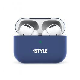 iSTYLE silikónový obal na AirPods Pro - navy blue