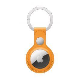 Apple AirTag Leather Key Ring - California Poppy (Seasonal Summer2021)