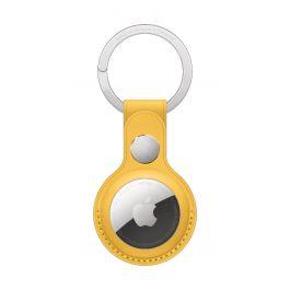 Apple AirTag Leather Key Ring - Meyer Lemon (Seasonal Summer2021)