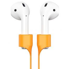 Popruh na slúchadlá Apple AirPods Baseus Earphone Strap - oranžový