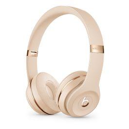 Bezdrôtové slúchadlá Beats Solo3 Wireless - saténovo zlaté