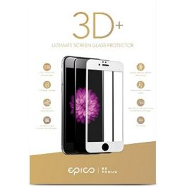 EPICO GLASS 3D+ tvrdené ochranné sklo pre iPhone 6/7/8 Plus - biele