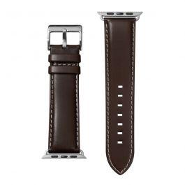 LAUT Oxford - kožený remienok na Apple Watch 42/44 mm, napa koža – svetlo hnedá