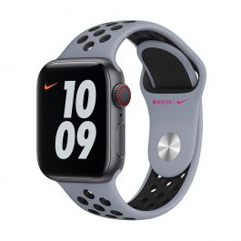 Apple Watch 40mm Nike Band: Obsidian Mist/Black Nike Sport Band Ð Regular