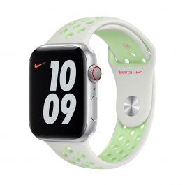 Apple Watch 44mm Nike Band: Spruce Aura/Vapor Green Nike Sport Band - Regular