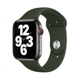 Apple Watch 44mm Band: Cyprus Green Sport Band - Regular (Seasonal Fall 2020)