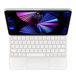 Magic Keyboard pre iPad Pro 11-inch (3. generácia) and iPad Air (4. generácia) - Slovenská - Biela