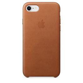 Apple - iPhone 8 / 7 kožený kryt - sedlovo hnedý