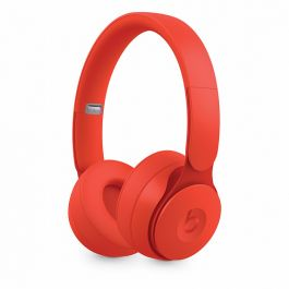 Beats Solo Pro Wireless Noise Cancelling Headphones - More Matte Collection - Červené