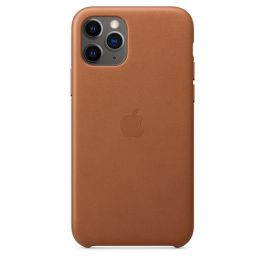 Apple kožený kryt na iPhone 11 Pro - Saddle Brown