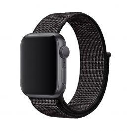 Apple Watch 40mm Nike Band: Čierny Nike Sport Loop