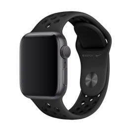 Apple Watch 40mm Nike Band: Anthracite/Black Nike Sport Band - S/M & M/L