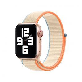 Apple Watch 40mm Band: Cream Sport Loop