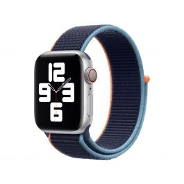 Apple Watch 44mm Band: Deep Navy Sport Loop