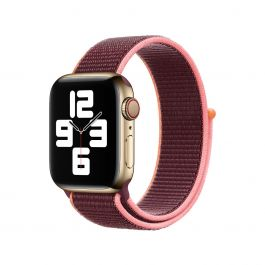Apple Watch 44mm Band: Plum Sport Loop
