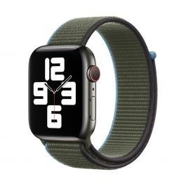 Apple Watch 44mm Band: Inverness Green Sport Loop