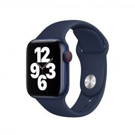 Apple Watch 44mm Band: Deep Navy Sport Band - Regular