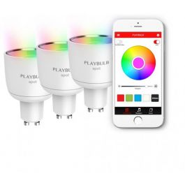 MiPow Playbulb™ Spot Smart LED Bluetooth žiarovka – v balení 3 ks