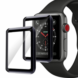 Ochranné sklo na Apple Watch 42mm InnocentMade Japan Corning 3D Glass - 2ks