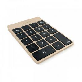 SATECHI Keypad, hliníková numerická klávesnica - zlatá