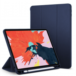 Innocent Journal Pencil Case iPad Air 10.9 2020 - Tmavomodrý