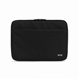 iSTYLE MACBOOK SLEEVE 13 - black  (inner PE bubble)
