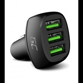 Nabíjačka do auta GC PowerRide 54W 3xUSB 18 W s technológiou rýchleho nabíjania Ultra Charge