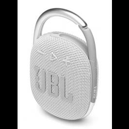 JBL Clip4 - Mini prenosný reproduktor,5W - Biely