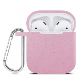 Innocent Eco Planet AirPods Case - Baby pink