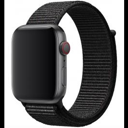 Innocent Fabric Loop Apple Watch Band 42/44mm - Čierny