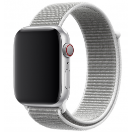 Innocent Fabric Loop Apple Watch Band 38/40mm - Biely