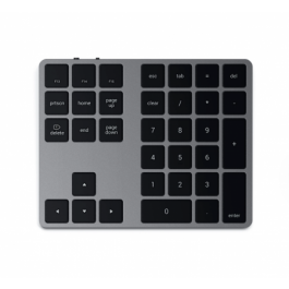 Satechi Aluminum Bluetooth Extended Keypad - Space Gray