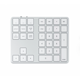 Satechi Aluminum Bluetooth Extended Keypad - Silver