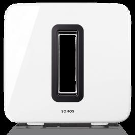 Bezdrôtový reproduktor Sonos SUB GLOSS Subwoofer - biely