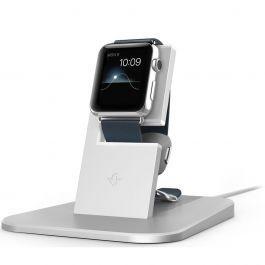 TwelveSouth HiRise stojan pre Apple Watch - strieborný