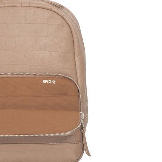 af89a5dfa22ae Knomo MINI MOUNT kožený ruksak - telový | iSTYLE