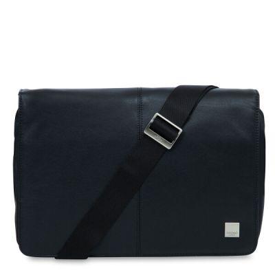 """Knomo KINSALE Cross Body taška na MacBook Air/Pro 13"""" - čierna"""
