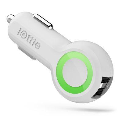 Autonabíjačka iOttie RapidVOLT Dual USB - biela