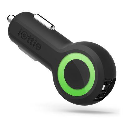 Autonabíjačka iOttie RapidVOLT Dual USB - čierna