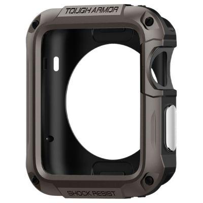 Spigen Tough Armor, pevné puzdro pre Apple Watch (42mm) - sivé