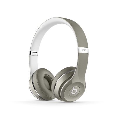 Beats by Dr. Dre - Solo² Luxe Edition - strieborné