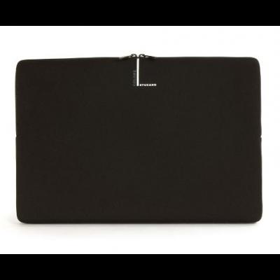"Tucano Colore Second Skin puzdro pre MacBook Air / Pro 13"" - čierne"